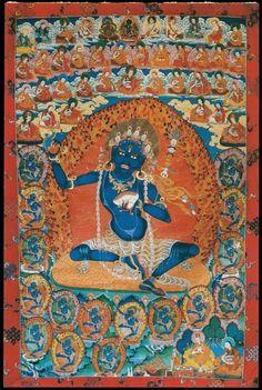 Nairatmya (Deité bouddhiste) - (2 mains) (HimalayanArt)