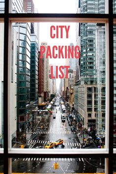 What to Pack for a City Getaway | Curious Citizen