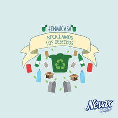 Contanos con el HT #Enmicasa ¿Qué materiales reciclás?.