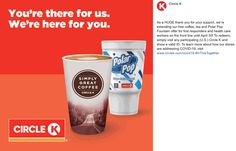 💰 Healthcare & first responders enjoy free drinks at Circle K gas stations all month Circle K coupons and promo codes from The Coupons App. Calendar Reminder, Couponing 101, April 5th, Cosmetic Treatments, Care Worker, Restaurant Offers, Shopping Coupons, Gas Station, Plastic Surgery