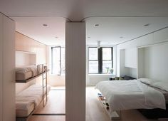 Check out how these Murphy bed designs cleverly maximize space and increase a room's functionality.