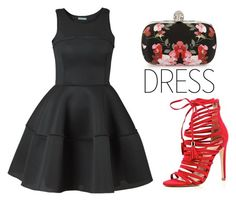 """""""Perfect Party Dress"""" by tania-alves ❤ liked on Polyvore featuring Alexander McQueen, River Island and partydress"""