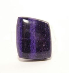 Purple Banded Sugilite Polished Stone Cabochon by FenderMinerals