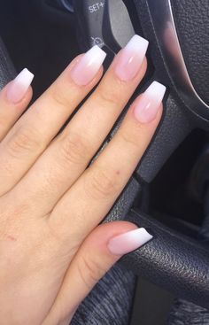 Want some ideas for wedding nail polish designs? This article is a collection of our favorite nail polish designs for your special day. Faded Nails, Neutral Nails, Aycrlic Nails, Cute Nails, French Nails, Overlay Nails, Wedding Nail Polish, Best Acrylic Nails, Dream Nails