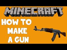 Minecraft - How to make a Gun! - Doni Bobes - http://dancedancenow.com/minecraft-backup/minecraft-how-to-make-a-gun-doni-bobes/