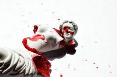 365 days of carnage by ChristinneBlacker on DeviantArt Bioshock, Elektra Natchios, A Darker Shade Of Magic, Donna Tartt, The Secret History, How To Get Away, God Of War, Elder Scrolls, Greek Mythology