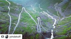 Was lucky to drive this road after a tour to Geiranger.  Scary and exciting at the same time. #reiseliv #reisetips #reiseblogger #reiseråd  #Repost @johdekoff with @repostapp  Great to look at this road specially after driving it watching trucks climbing up! #norge #norway #roadtrip . . . . @focalmark  #naturelovers #awesome_earthpix #liveauthentic #thecreative #livefolk #mountainlove #artofvisuals #instamountain