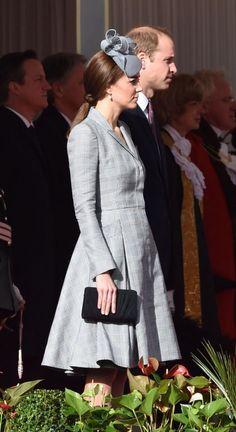 Alexander McQueen coat, Jane Taylor hat.