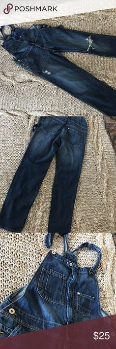 Jeans overall. New, no tags. Size 4. Perfect new overall, bright indigo, size 4. H&M Jeans Overalls
