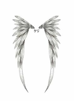 simple angel wings tattoo | Angel Wing Tattoo Design by ~childofthenocht on deviantART