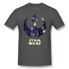 CAIZEXI Star Wars Men's Simplest Logo T-Shirt