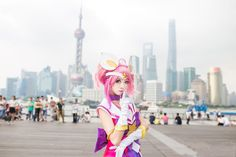 """league-of-legends-sexy-girls: """" Lux Cosplay """""""