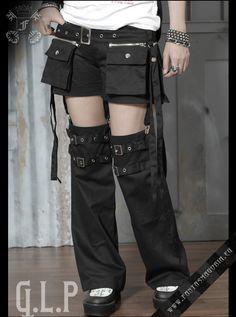 $53 Euros. Steam Punk shorts & legwarmers  Really?