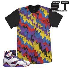 24c1d4031f0c Jordan 7 Nothing But Net Show Down Shirt Jordan Retro 7