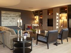 Krista Hartmann Interior Oslo, Family Room, Conference Room, Villa, Dining Table, Interiors, Colour, Living Room, Furniture