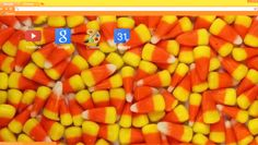 Candy Corn Chrome Theme - for Halloween Halloween Themes, Happy Halloween, Facebook Layout, Candy Corn, Ios App, Iphone Wallpaper, Chrome, Wallpaper For Iphone