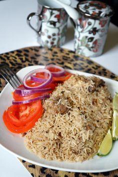 Kenyan Chicken Pilaf: Chicken Pilau