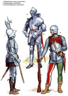 Italian Soldiers, Late 15th Century