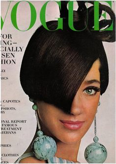 youthquakers: 15th January 1966  Marisa Berenson  hair and earring are just crazy, love love love