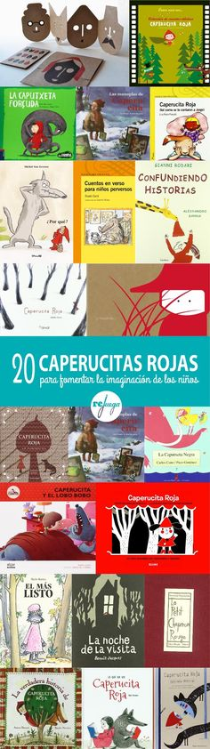 Con estas 20 propuestas de Caperucita Roja demostrarás que una misma idea puede… Language Immersion, Classroom Labels, Language And Literature, Binder Covers, Christmas Books, Red Riding Hood, Fourth Grade, School Fun, Book Illustration