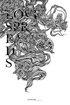 Greg Coulton es un diseñador gráfico nacido en Inglaterra, quien desde los 12 años de edad encontró su pasión entre los trazos. Su fuerte son las tipografías, aunque sus diseños de figuras son espectaculares y súper detallados.