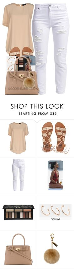 """4/19/16"" by codeineweeknds ❤ liked on Polyvore featuring Atos Lombardini, Billabong, Miss Selfridge, Kat Von D, Luv Aj, Salvatore Ferragamo and Helen Moore"