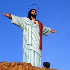 There's a theme park with a robotic Jesus that rises every hour, seriously.