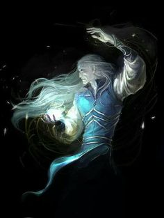 Then arose Feanor of the Noldoli...  and he took the sheen of pearls and half-colours of opals, and bathed them in the radiant ew of Silpion and a single drop of the light of Laurelin he let fall therein...and made a jewel, and it shone of its own radiance in the dark. And he sat a long while and gazed at its beauty. And he made two others,  and fetched the others to behold his handiwork and they were utterly amazed. These he called the Silmarils.