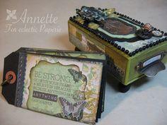 Eclectic Paperie: Friendship Matchbox