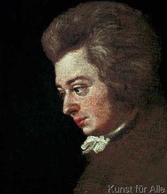 Joseph Lange - Mozart at the Piano