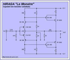JEAN HIRAGA - Le Monstre Amplifier PCB Valve Amplifier, Audio Amplifier, Hifi Audio, Audiophile, Electronic Circuit Design, Electronic Engineering, Electrical Engineering, Diy Electronics, Electronics Projects