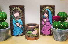 Decoupage, Christmas Crafts, Carving, Cakes, Handmade Candles, Carved Candles, Painted Rocks, Wood Carvings, Mudpie