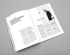INO magazine by Lionel Melchiorre, via Behance