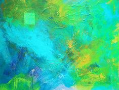 Summer Storm Abstract Painting by Nancy Merkle; Original and Fine Art Reproduction Prints and Posters for Sale