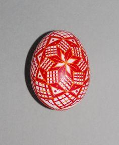 Decorated Easter egg made by Jarmila Kummermanova / Czechoslovakia © British Museum