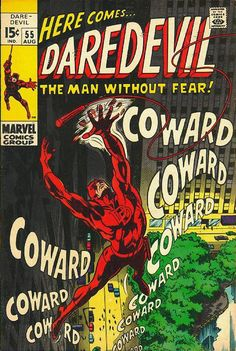 Daredevil # 55 by Gene Colan & Sam Grainger