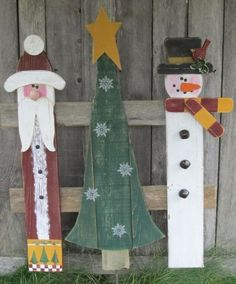 some More Fence Board Art:
