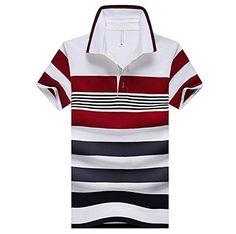 ec8defe806 Mens XXXL Striped Polo Shirt Polo Tişörtler
