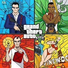 50 carátulas rediseñadas de populares videojuegos