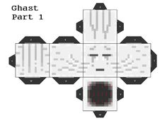 Ghast Cubeecraft Part 1 by Mariorocks655.deviantart.com on @DeviantArt