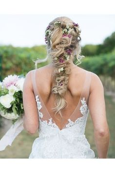 Bridal hair ideas that you and your bridesmaids will love - including updos, braids, flowers and headpieces