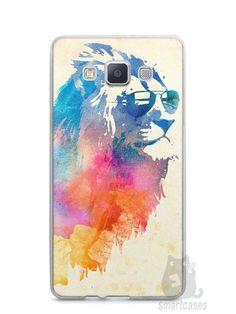 Capa Samsung A5 Leão Colorido #2 - SmartCases - Acessórios para celulares e tablets :)