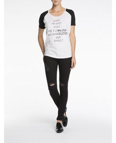 $65 Oversized cotton linen t-shirt
