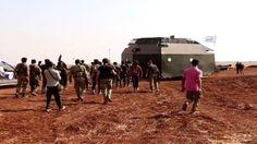 FSA menarik diri dari dua desa di utara Aleppo mengapa?  ALEPPO (Arrahmah.com) - Tentara Pembebasan Suriah (FSA) mengumumkan pada Selasa (11/10/2016) malam bahwa pejuangnya akan menarik diri dari dua desa yang telah berhasil direbut pada sore harinya dari ISIS.  Sebuah sumber militer mengatakan kepada jaringan berita ElDorar bahwa Tentara Pembebasan Suriah telah berhasil menguasai desa Ehtmilat dan Kafrah yang didukung oleh artileri dan pesawat tempur Turki namun para pejuangnya akan ditarik…