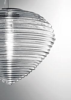 'spirit' venetian glass lamp by marco acerbis studio