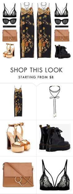 """""""Chic / Casual"""" by baludna ❤ liked on Polyvore featuring N°21, Miss Selfridge, Giuseppe Zanotti, Dr. Martens, Chloé and NARS Cosmetics"""