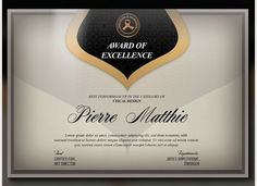 As a token of appreciation and excellent certificates are awarded to deserving recipients in different environments – schools, colleges, offices, clubs etc. Being the recipient of a certificate is… Free Certificates, Certificate Design Template, Templates Free, Design Templates, Projects To Try, Invitations, Triangles, Creative, Photoshop