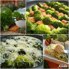 Aleda konyhája: Csőben sült brokkoli