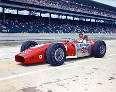 1964 Indy 500 Studebaker-STP Fergusson/Novi #9 driven by Bobby Unser. DNF crash…