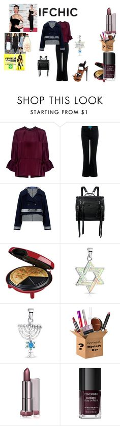 """""""IFCHIC worldwide shipping contest"""" by naomig-dix ❤ liked on Polyvore featuring McQ by Alexander McQueen, M.i.h Jeans, Sea, New York, George Foreman, Bling Jewelry, COVERGIRL, Nemesis, Victoria Beckham, Old Spice and ifchic"""